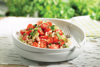 Recipe - Terrific tuna and tomato salad