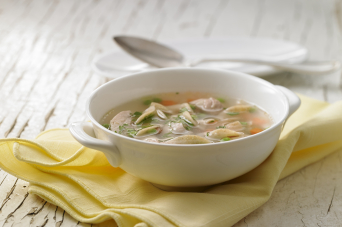 Recipe - Hearty chicken noodle soup